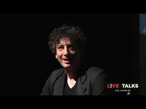 Neil Gaiman in conversation with Geoff Boucher at Live Talks Los Angeles
