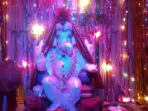 My Home Ganpati Lighting Decoration You