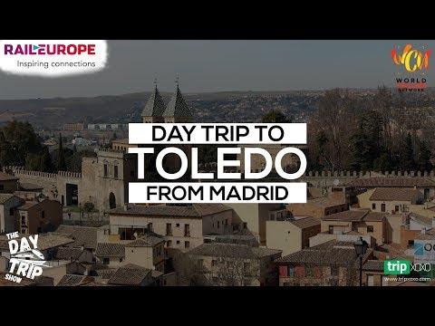 Toledo: Day Trip from Madrid, Spain | Travel Vlog | Shot On Go Pro