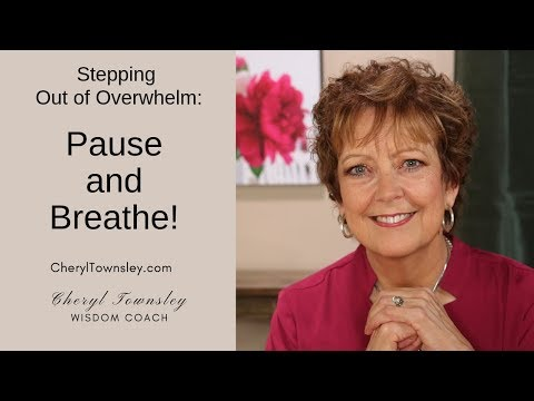 Step Out of Stress Strategy 1: Take Time to Breathe