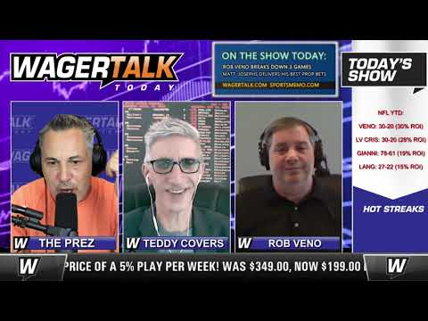 Daily Free Sports Picks | NFL Week 9 Picks and College Football Predictions on WagerTalk Today 11/6