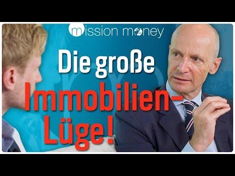 Gerd Kommer: Kaufen oder mieten? Darum sind Immobilien massiv überschätzt! // Mission Money