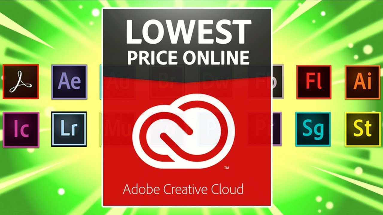 How to get Creative Cloud cheaper without being a Student or Teacher