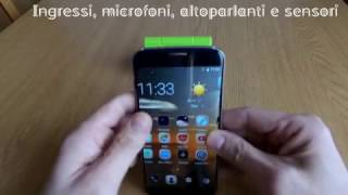 Preview ITA, Review Bluboo Edge smartphone curved screen and conclusions