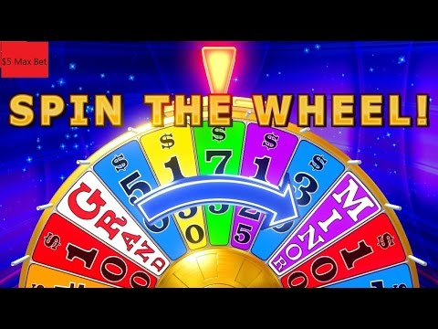 Wheel Of Fortune Slot Machine  Bonus ★★SPIN WHEEL★★ $5 Max Bet !!!! 2 Bonuses