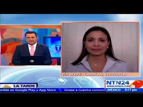 Maria Corina Machado habla sobre nueva alianza Soy Venezuela