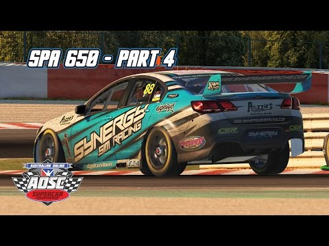 iRacing: Spa 650 - Part 4 (V8 Supercar @ Spa Francorchamps)