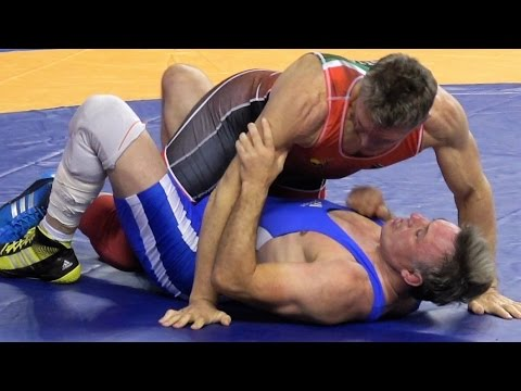 Freestyle Wrestling PIN - South Africa vs Germany