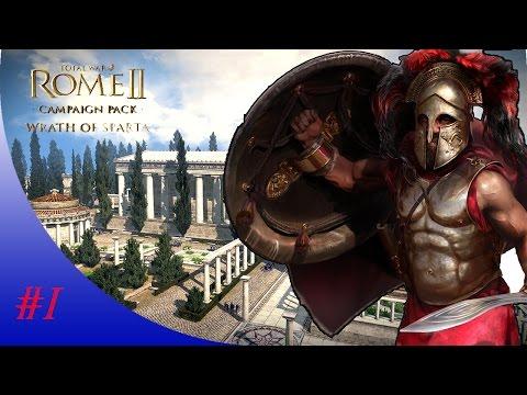 Total war: Rome 2 | Wrath of Sparta | Sparta Campaign | #1 |