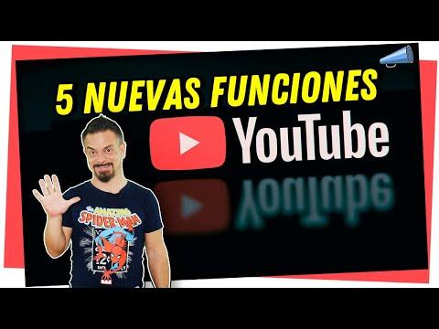 🔴 5 Nuevas Funciones de Youtube
