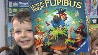 Hokus Pokus Flipibus (Ravensburger) - ab 5 Jahre - Zauberschule für junge Zauberer inkl. Hexenstab