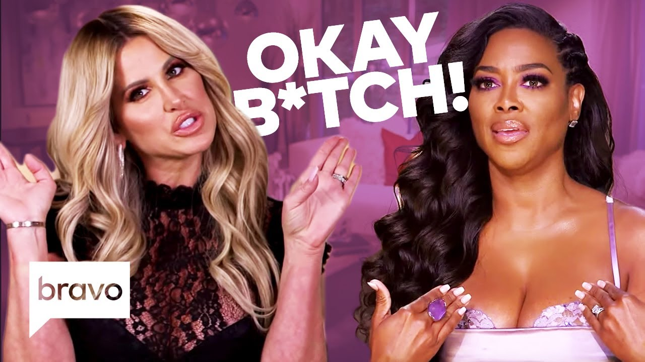 'Real Housewives Of Atlanta' Kenya Moore's Relationship With ...
