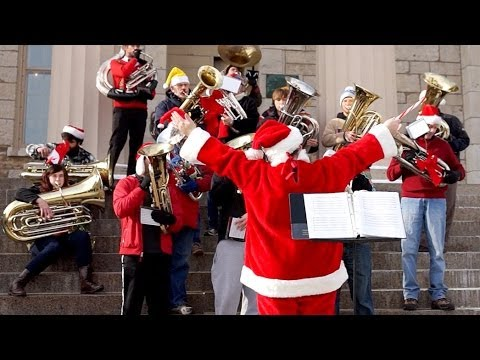 Holiday Tubas on YouTube