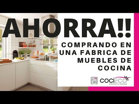 Fábrica de muebles de cocina con venta directa en Madrid.