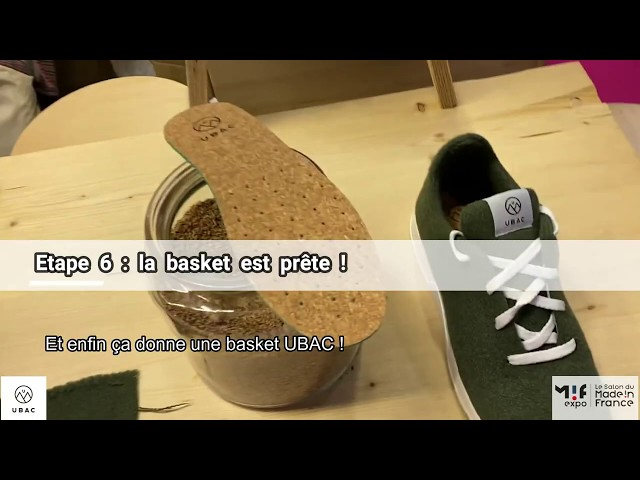 UBAC, la basket en laine recyclée Made In France