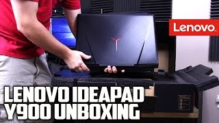 Lenovo Ideapad Y900 GTX 980M Gaming Laptop Unboxing
