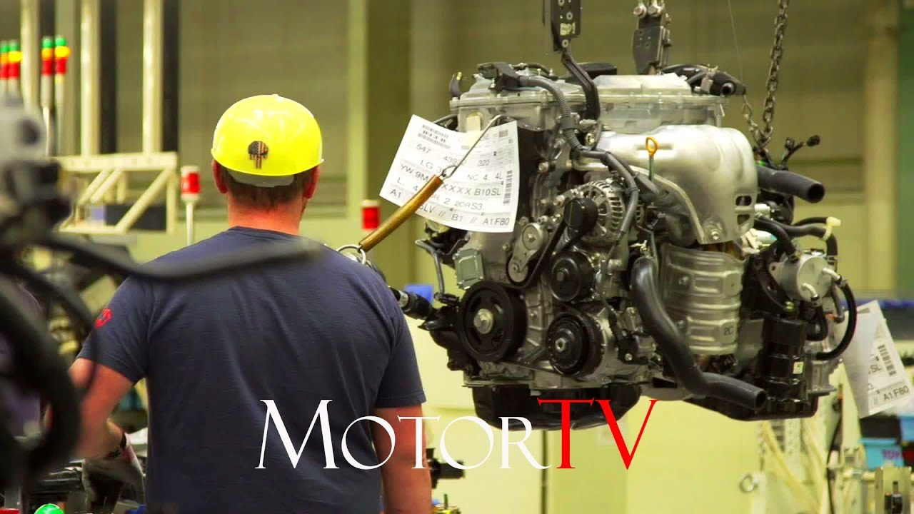Car Factory 2017 Toyota Motor Manufacturing No Music L Kentucky Missoury Plants Us