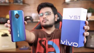 Vivo Y51 Unboxing | Amoled,Fast Charging and in-display fingerprint.