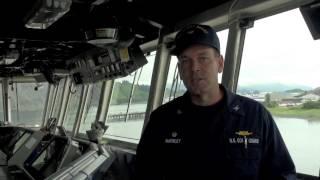 Coast Guard Cutter Waesche Begins First Alaska Patrol