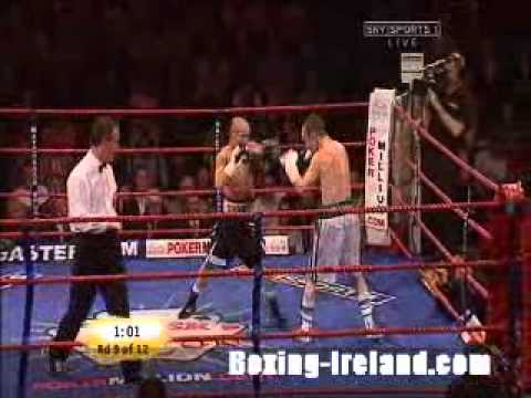 Damaen Kelly vs Simone Maludrottu fight for European title in Belfast - Irish Boxing