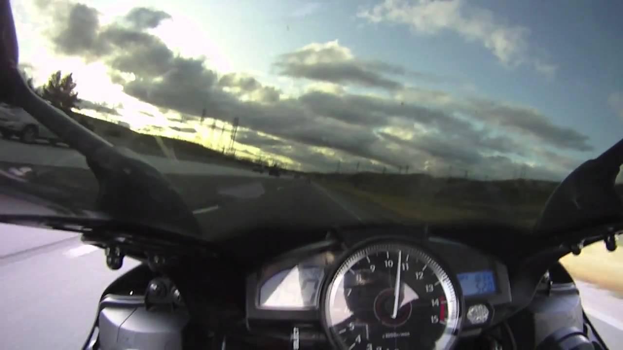 2008 Yamaha R1 Top Speed (189 MPH) - YouTube