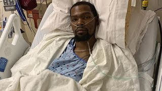 NBA Players REACT To Kevin Durant Emotional Post Surgery Picture On Instagram!