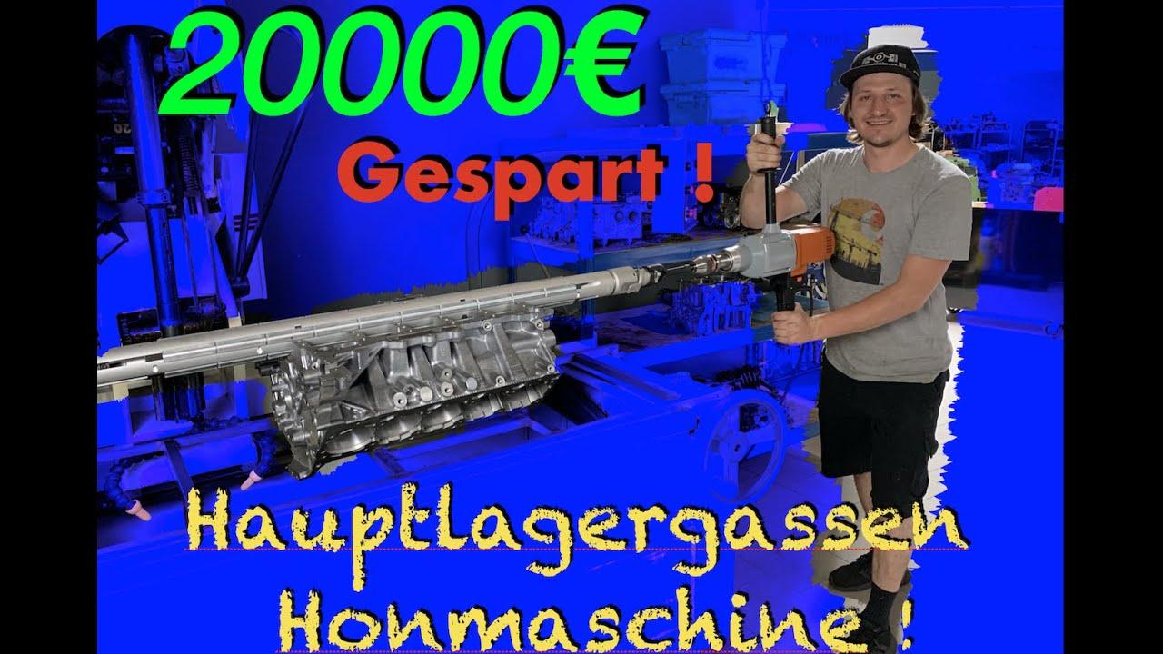 Wir bauen eine Hauptlagergassen Honmaschine für den Lambo von Phillip Kaess l Subi-Performance