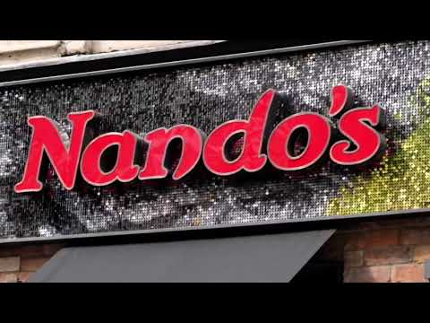 Shimmerdisc Sequin Displays - Nandos Soho London