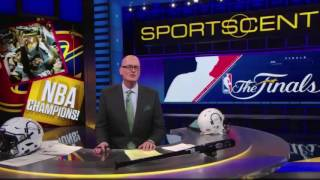 Scott Van Pelt SVP Calls Out Lebron James Haters Skip Bayless Serious Shade Sports Center 6 19 16