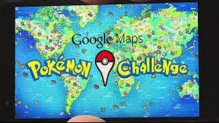 Google Maps Pokémon Challenge Free HD Video