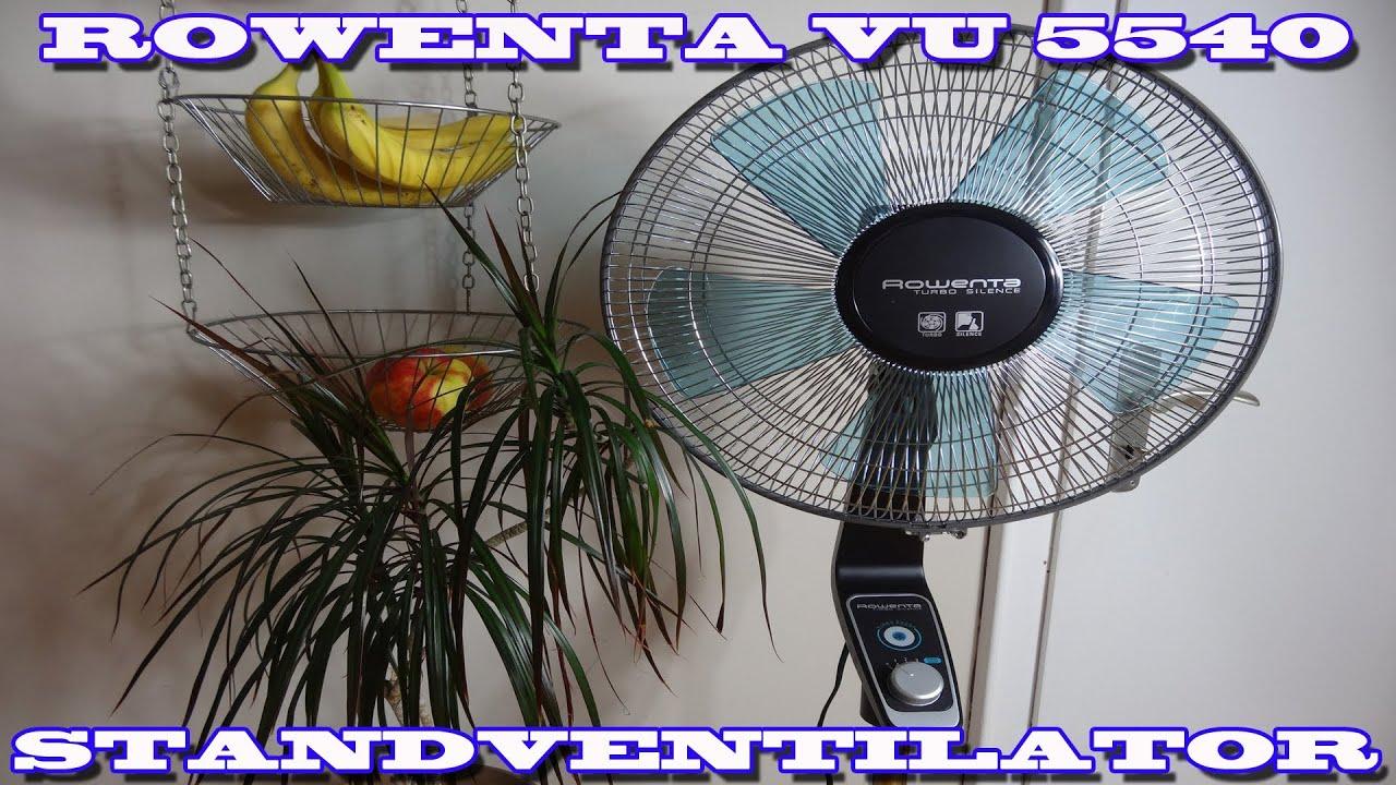 Rowenta Vu 5540 Standventilator Super Silent Vorstellung