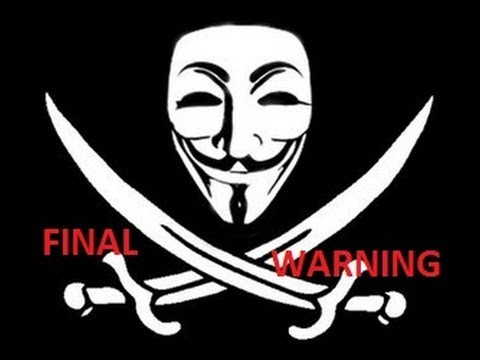 ANONYMOUS: FINAL WARNING TO AMERICA