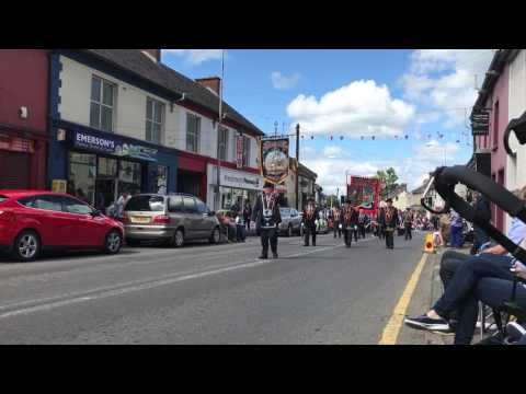 Brookeborough flute band @ 12th August 2017