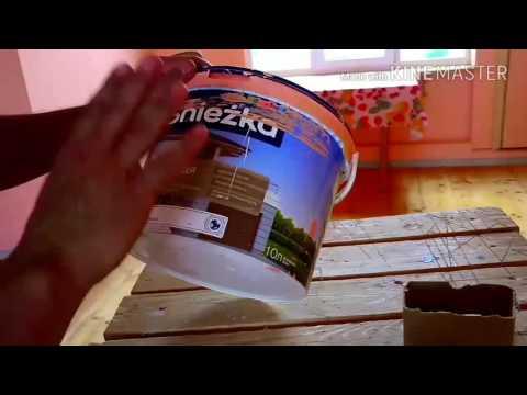 Как покрасить стены на мансарде