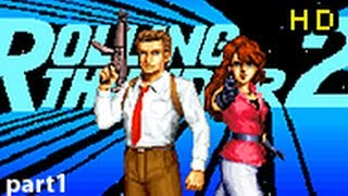 Rolling Thunder 2 Arcade CO-OP Complete Playthrough HD (pt.1) - PugmanPlays