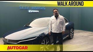 Tata EVision Concept Walkaround With Pratap Bose | Geneva Motor Show 2018 | Autocar India