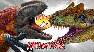 Allosaurus VS Yutyrannus [Who Would Win?]