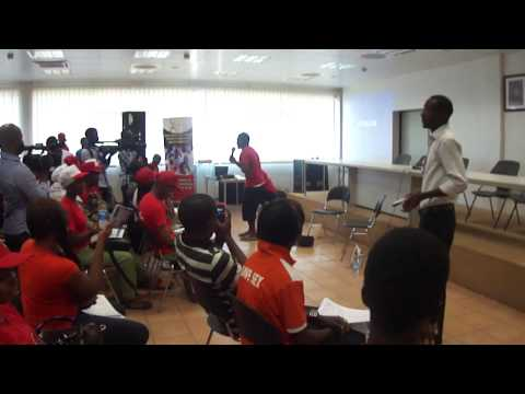 Young People's Drama presentation on HIV during WADay 2013
