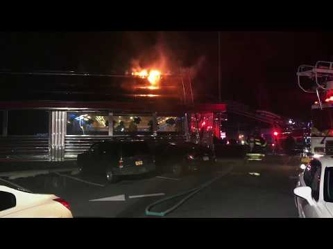 Runnemede, NJ - All Hands Working Building Fire - Phily Diner - 1/13/18