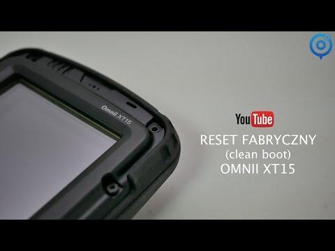 Reset Fabryczny (Clean Boot) Zebra Omnii Xt15 - YT