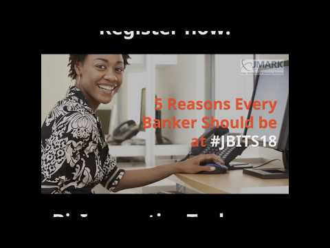5 Reasons Every Banker Should be at #JBITS18