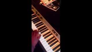 "The Boondocks "" Outro "" Piano Tutorial"