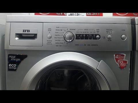 how to use ifb 6kg front load washing machine model diva aqua sx 6kg 800 rpm full demo