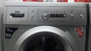 how to use ifb 6kg front load washing machine model diva aqua sx 6kg 800 rpm full demo