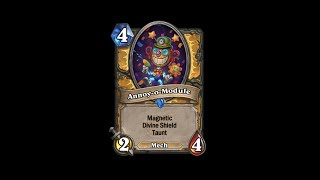 Boomsday project Mech,s even better OP paladin  deck hearthstone.