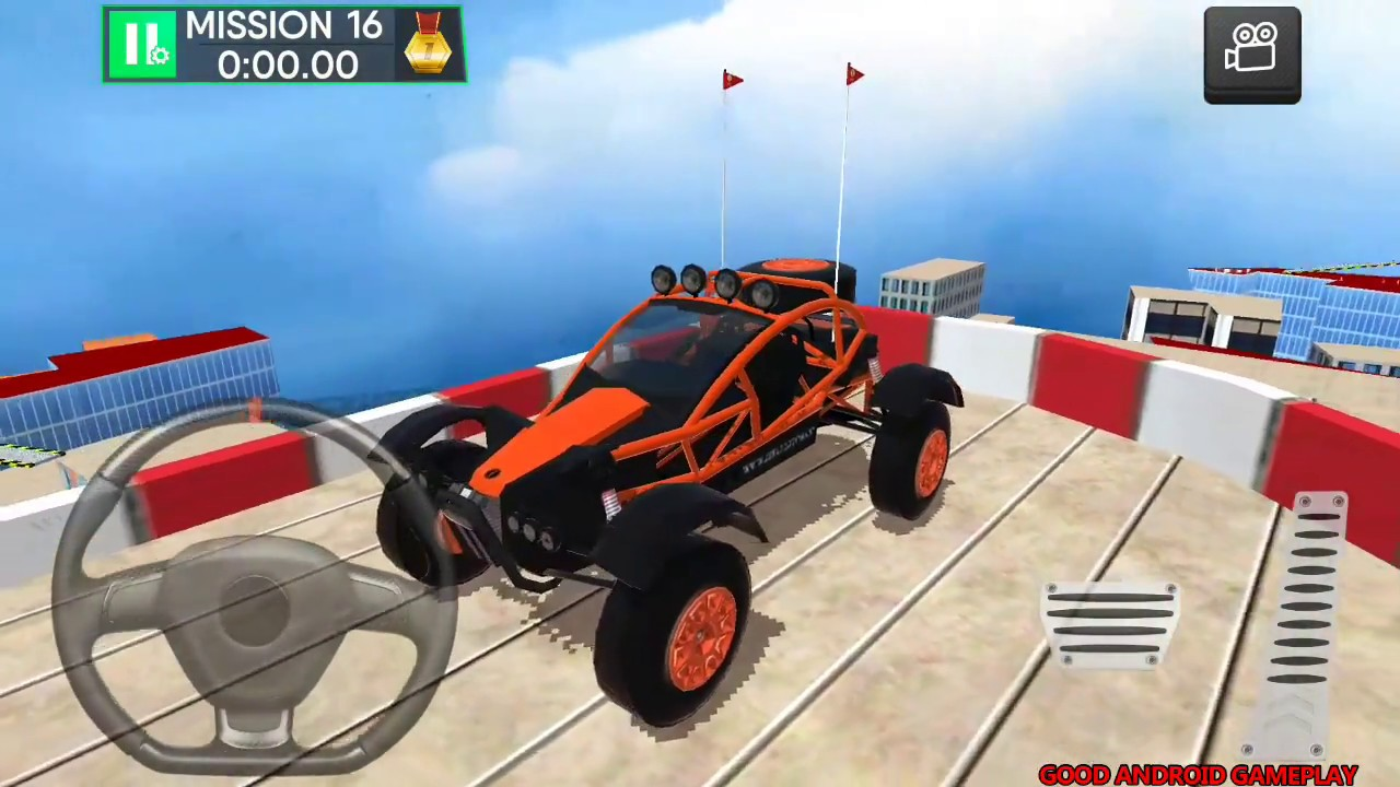 Roof Jumping Car Parking Games #4 - New  Vehicle Unlocked Android Gameplay FHD