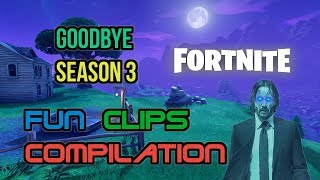 Fortnite Battle Royale Season 3 Fun Memories and Best Epic WTF Moments - Music Video Compilation