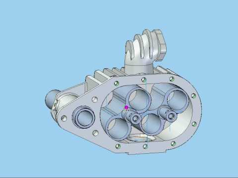 Roots Compressor Alfa Romeo 6C simulation.avi