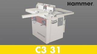HAMMER - Combinée C3 31 Obrabiarka do drewna (POL) - Część 1 - Felder Group