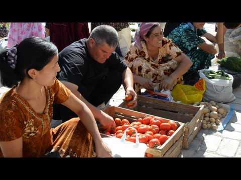 Uzbekistan Khiva Bazaar